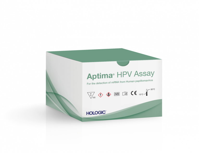 Packung Aptima HPV Assay und Packung Aptima HPV 16 18/45 Genotype Assay