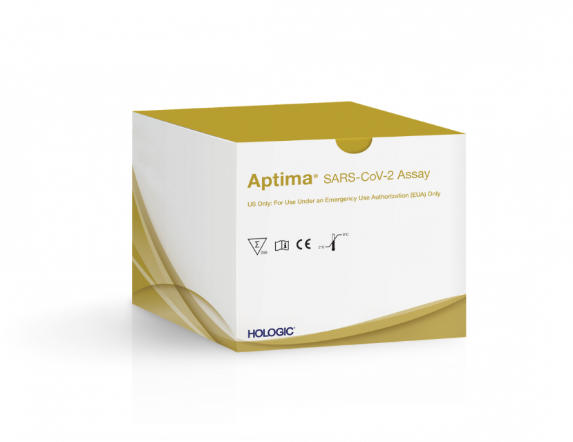 Packung Aptima® SARS-CoV-2 Assay